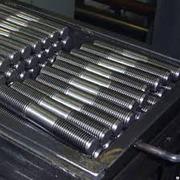 Производство фланцевых шпилек,  с 2х сторонней резьбой