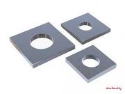 Квадратные анкерные пластины шайбы с отверстиями