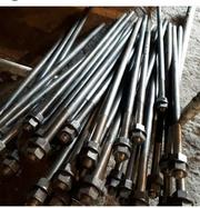 Изготовление фланцевых шпилек ,  анкерных болтов